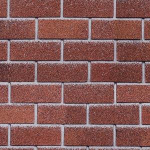 Технониколь Шинглас фасадная плитка Hauberk Красный кирпич