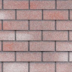 Технониколь Шинглас фасадная плитка Hauberk Мраморный кирпич