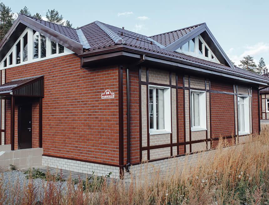 Фасадная плитка Hauberk кирпич