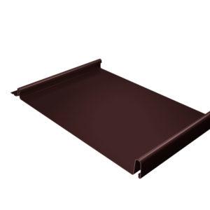 Кликфальц коричневый RAL8017