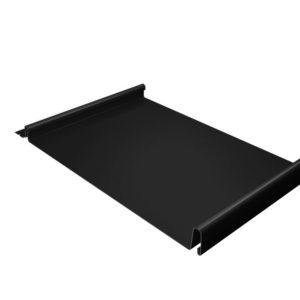 Кликфальц черный RAL9005