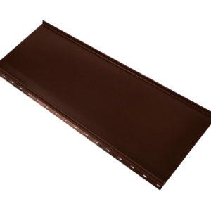 Кликфальц Mini коричневый RAL8017