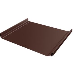 Кликфальц Pro коричневый RAL8017