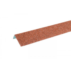 Угол оконный Hauberk 50×100х1250 мм красный
