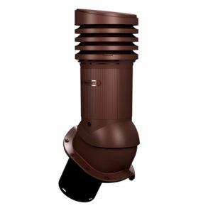 Вентиляционный выход 150 Wirplast EVO E30 коричневый